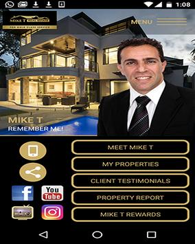 Mike T Real Estate poster