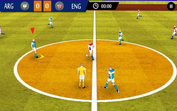 Futsal Football 4 poster