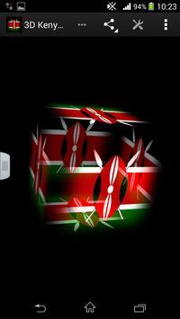 3D Kenya Live Wallpaper poster