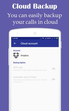 Call Recorder & Cloud Backup apk screenshot