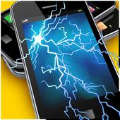 Electric Screen Prank Free icon