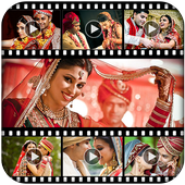 Marriage Video Maker With Song icon