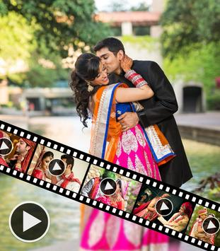 Marriage Video Maker With Song poster