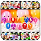 Birthday Video Maker With Music icon