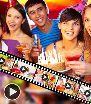 Birthday Video Maker With Music poster