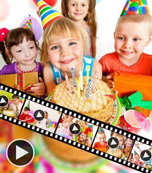 Birthday Video Maker With Music apk screenshot