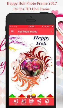 Holi Photo Frame 2018 apk screenshot