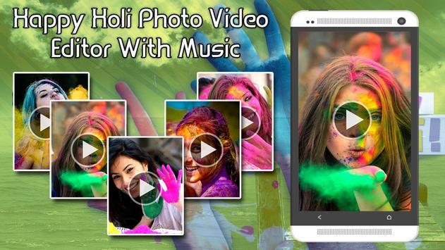 Happy Holi Video Maker apk screenshot