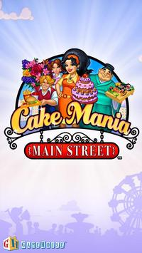 Cake Mania - Main Street Lite الملصق