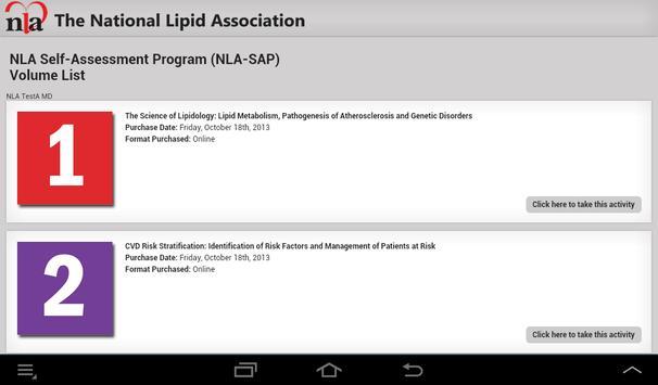 NLA-SAP screenshot 1