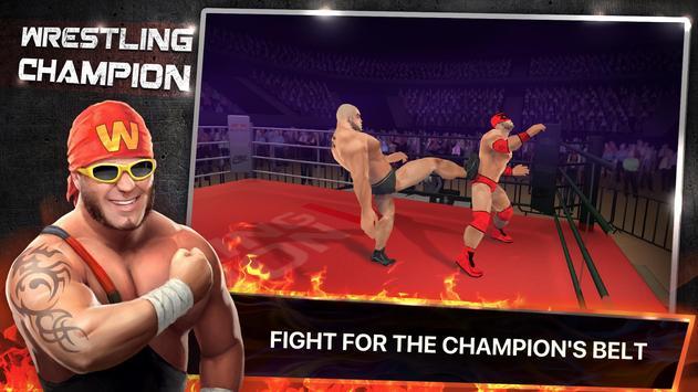 Wrestling Champion 3D poster