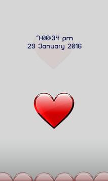 Heart Screen Lock poster
