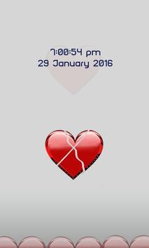 Heart Screen Lock screenshot 1