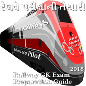 R.R.B Railway GK Exam Preparation app 2018 bharti icon