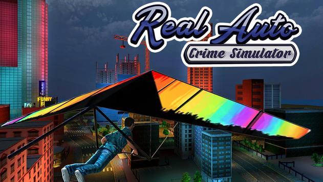 Real Auto Crime Simulator 3d poster