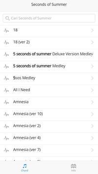 5 Seconds of Summer Chords screenshot 3