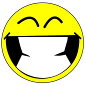 Smile button icon