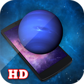 3D Realistic Neptune LWP HD icon