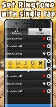 Bruno Mars Ringtones Free screenshot 1