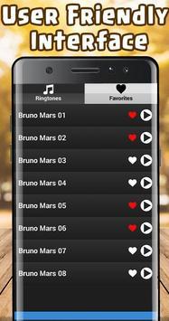 Bruno Mars Ringtones Free screenshot 2