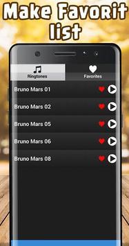 Bruno Mars Ringtones Free screenshot 3