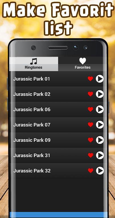 jurassic park ringtones