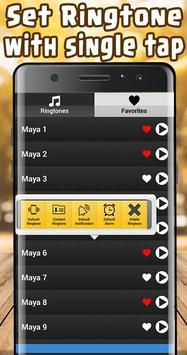 Maya Ringtone free screenshot 1