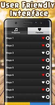 Maya Ringtone free screenshot 2