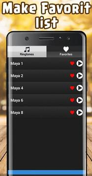 Maya Ringtone free screenshot 3
