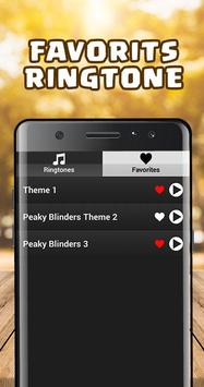 Peaky Blinders Ringtone screenshot 2