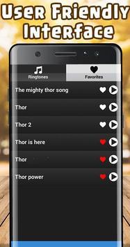 Thor Ringtone free screenshot 2