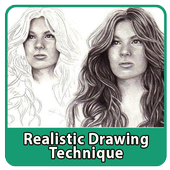 Realistic Drawing Technique icon