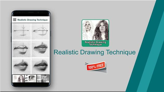 Realistic Drawing Technique poster