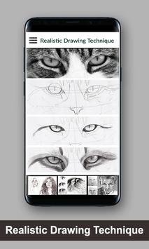 Realistic Drawing Technique screenshot 3