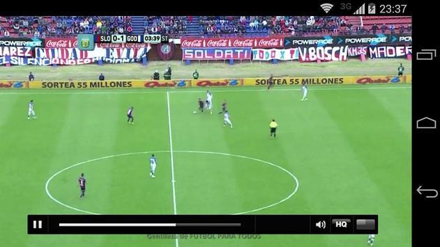 Fútbol para todos los gustos screenshot 4