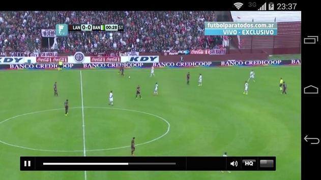 Fútbol para todos los gustos screenshot 5