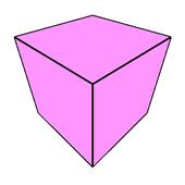 3D Square icon