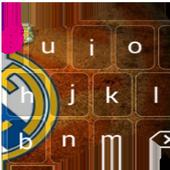 Keyboard Go: Los Blancos icon