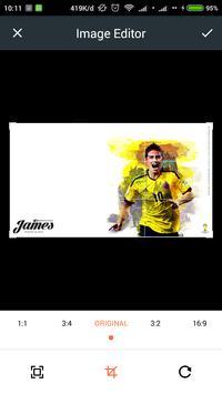James Rodríguez Wallpaper High Definition apk screenshot