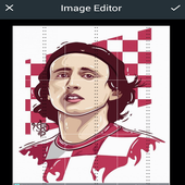 Luka Modric Wallpaper High Definition icon