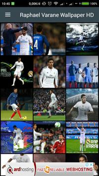 HD Raphael Varane Wallpaper poster
