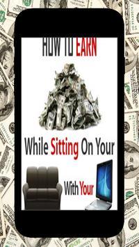 Work Online- Make Real Money poster