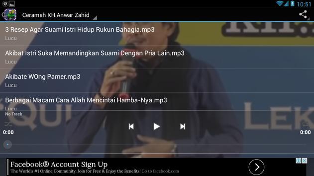 Ceramah KH.Anwar Zahid Lucu apk screenshot