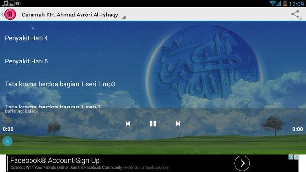 Ceramah KH.Syekh Asrori screenshot 4