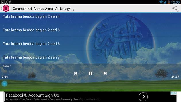 Ceramah KH.Syekh Asrori screenshot 3