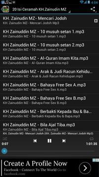 Ceramah KH.Zainudin Mz screenshot 2
