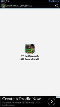 Ceramah KH.Zainudin Mz screenshot 3