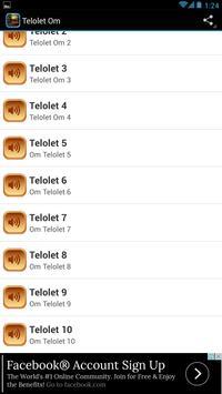 Telolet Om poster