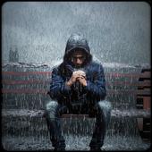 Real Live Rain Photo Frames icon