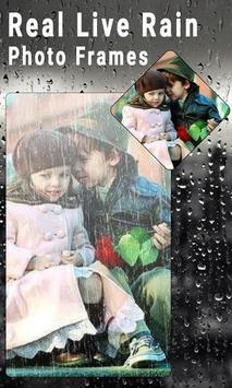 Real Live Rain Photo Frames poster